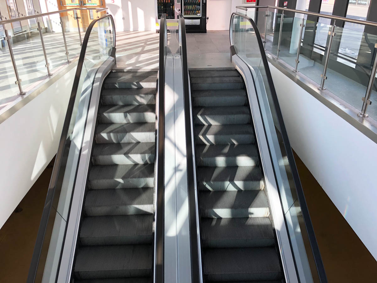 Image of escalator